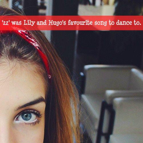 '22' was Lily and Hugo's favourite song to dance to.