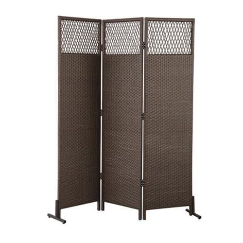 Backyard Creations 6 Wicker Privacy Screen In 2020 Outdoor Wicker Furniture Privacy Screen Resin Wicker