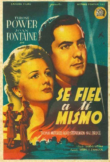 Se Fiel A Ti Mismo 1942 This Above All De Anatole Litvak