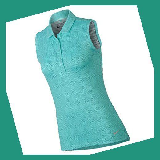 PGA TOUR Womens Short Sleeve Feminine Mosaic Print Polo
