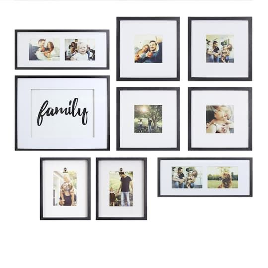 Gallery Perfect Frame Decor Kit Family Michaels In 2020 Rustic Gallery Wall Dining Room Picture Wall Photo Wall Layout