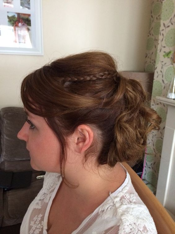 Curl up do - wedding/vintage look