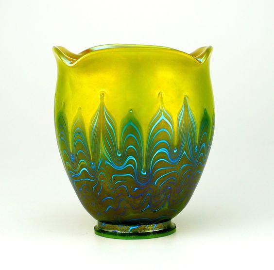 Loetz Phänomen Genre Art Glass Shade