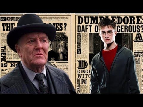 What If Cornelius Fudge Believed Harry Youtube Cornelius Harry Fantastic Beasts And Where