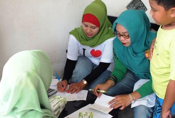 Pembukuan Bank Sampah Melati Bersih Puri Bintaro Hijau Kota Tangerang Selatan