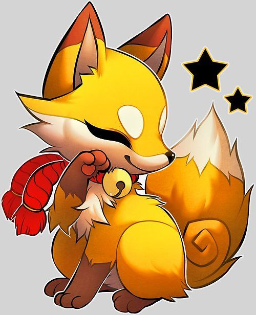 How To Draw A Cute Fox Easy Cute Fox Drawing Cartoon Fox