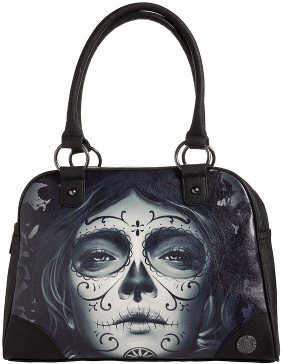 Tattoo Fashion Sullen My Love Bowler Bag - Purses & Handbags