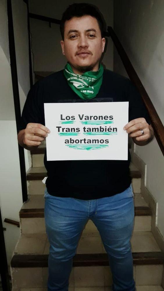 A sus 17 años, Benjamín sufrió de discriminación obstétrica por las leyes antiaborto en Argentina. (Foto: Facebook/ Benjamín G.)