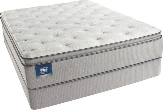 Queen Simmons Beautysleep Star Fall Plush Pillow Top Mattress Mattress Pinterest