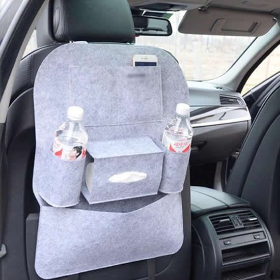 New Design Customized Tablet Holder Car Backseat Organizer With