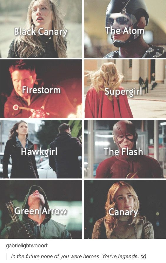 I love all of them except super girl.