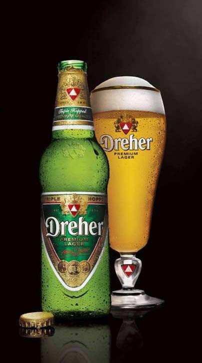Dreher beer - Picture of Fatal Etterem, Budapest - TripAdvisor