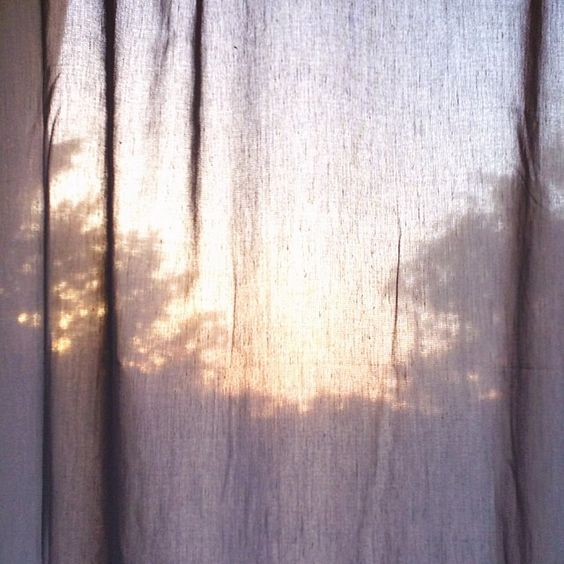 Image result for early morning light through curtains