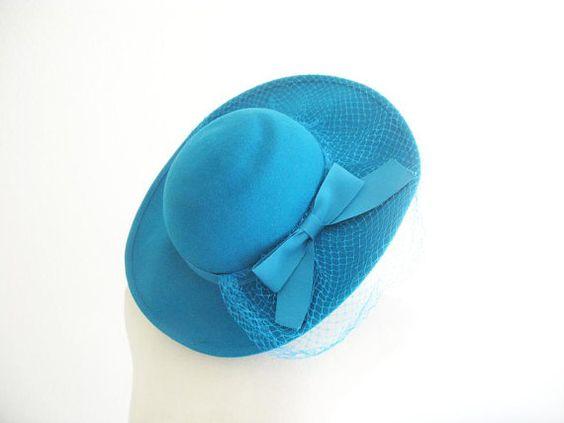 Vintage 1980's Mrs. Peacock Hat
