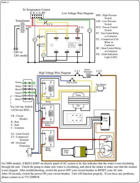 split system ac wiring diagram  7 plug truck wiring diagram