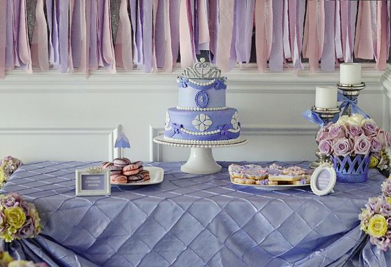 Sofia the First-Inspired Birthday Party - Project Nursery