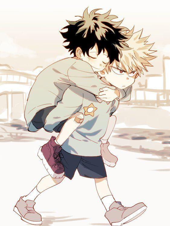 Little Bakugo And Deku My Hero Academia Episodes Hero Hero Wallpaper