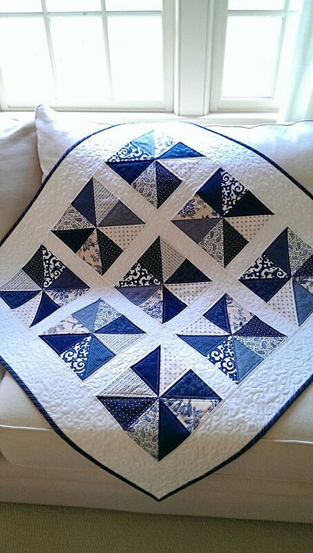 Summer Quilt Pattern Table Runner Wall Hanging PDF Quilting Patriotic Scrap…