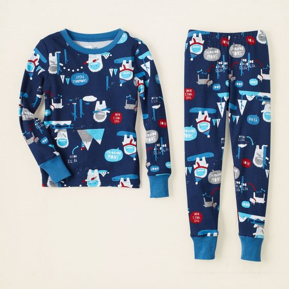 baby boy - sleep & underwear - yeti cotton pjs | Children's Clothing | Kids Clothes | The Children's Place