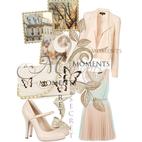 Simple beauty, created by howtodresslikepictures on Polyvore