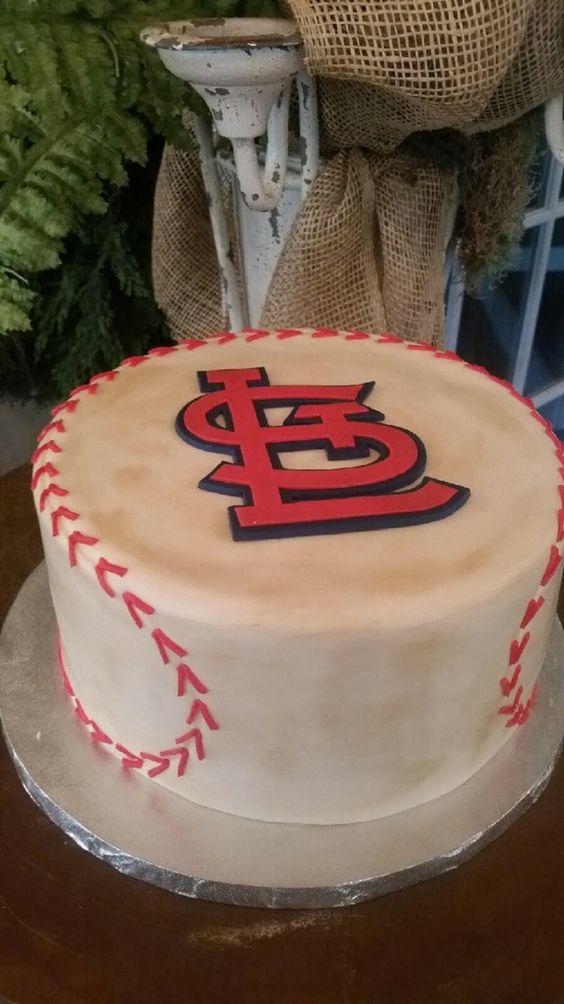 st louis cardinals baseball cake grooms cakes pinterest