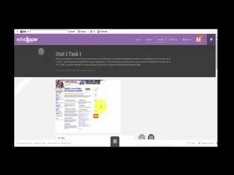 Educlipper tutorial en español 2: crear una clase y mandar tareas. - YouTube