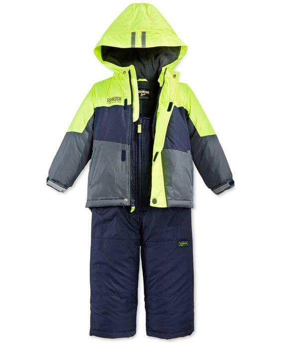 London Fog Multi-Color Boys' Snowsuit