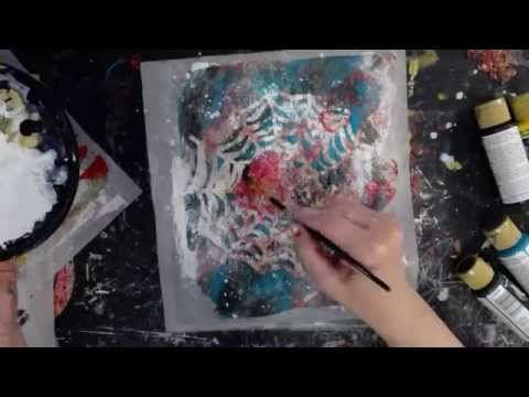 Inking Journals and Gelli Plate Play - YouTube