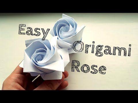 Origami Blume falten/ DIY-Origami Flower - YouTube | Origami ... | 360x480