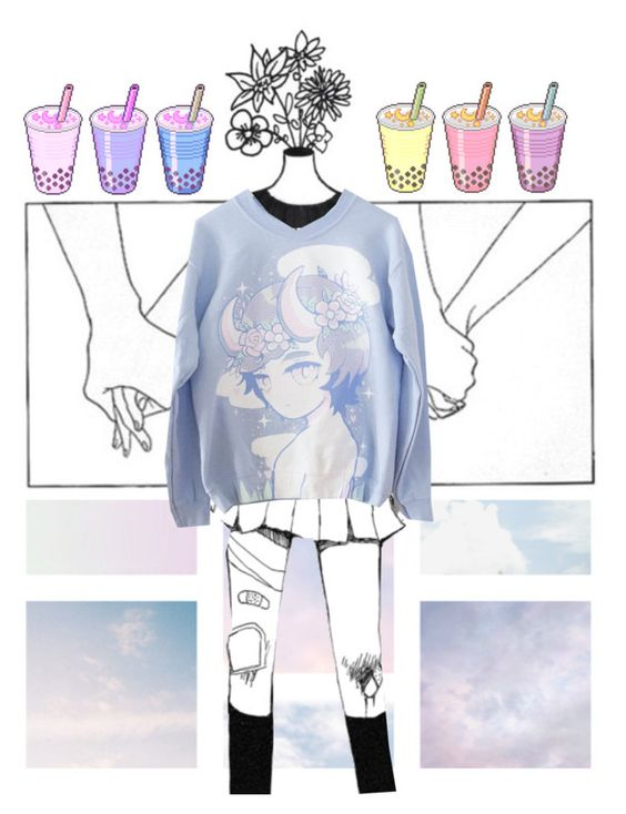 """""""{ why did you steal my cotton candy heart }"""" by patroclaws ❤ liked on Polyvore featuring men's fashion, menswear and clotheshavenogender"""