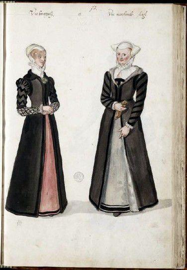Heere Women. 1570s.