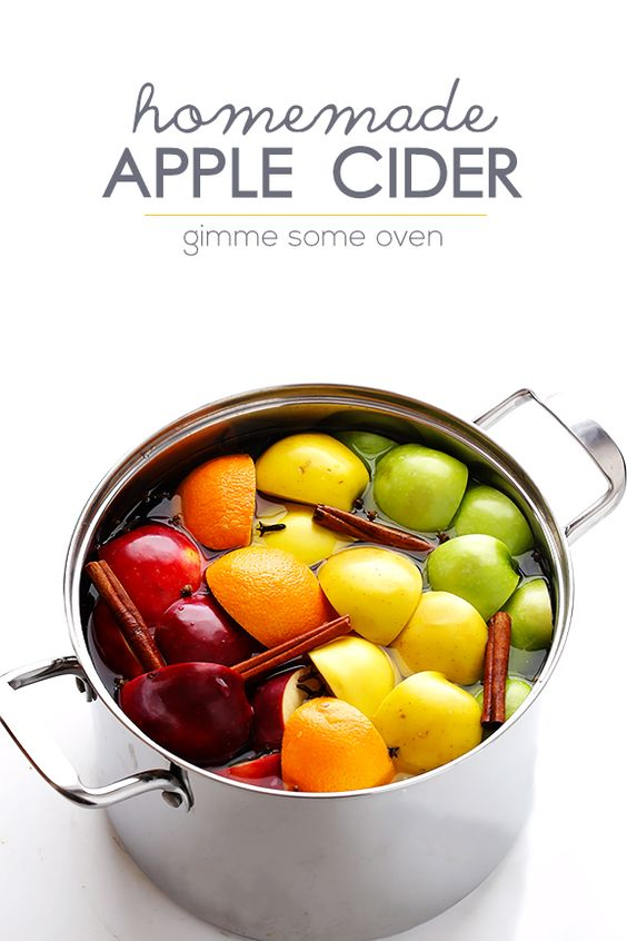 Did you know that homemade apple cider is easy to make from scratch ...