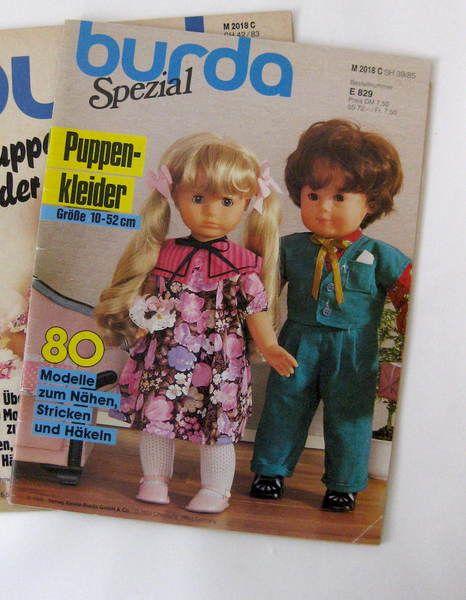 Burda Puppenmode 1985 E829 von GretaunddasRotkaeppchen auf DaWanda.com