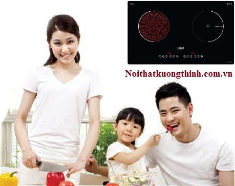 Một số chức năng nổi bật trên bếp điện từ Chefs EH MIX330