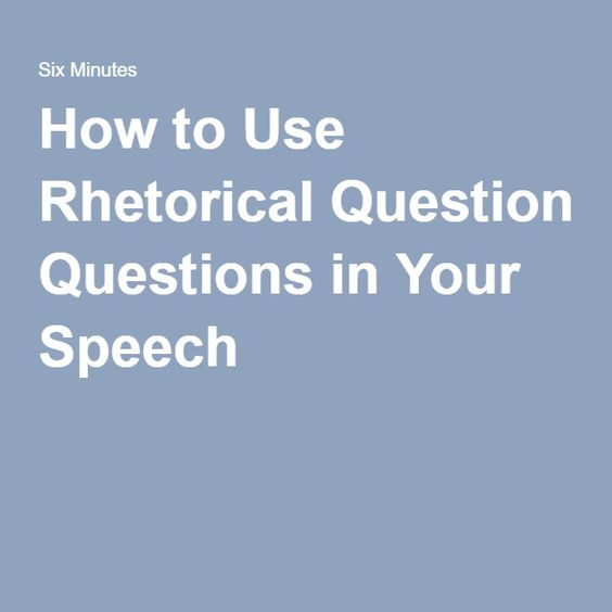 rhetorical purpose of the speech i Analyzing famous speeches as arguments  analyze a speech for rhetorical devices and  lead a discussion of the speech as an argument with regard to purpose and .