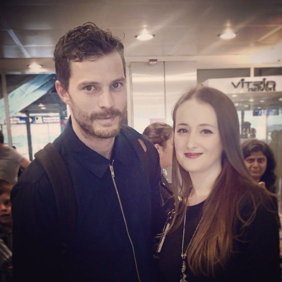 "Fifty Shades Darker on Twitter: ""Old pictures Jamie with fans #JamieDornan https://t.co/mAsj2H9Y0c"""