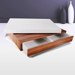 Une tr s belle association de couleurs et mat riaux sur for Table basse scandinave couleur