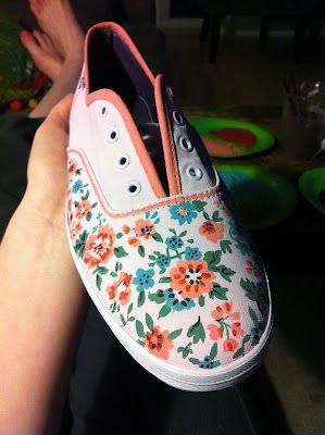 Peace, Love, Pliers//DIY Painted Shoes Love theseeeeeeeeeeeeeeee! <3 <3 <3