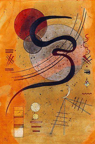 launelinie von wassily kandinsky kunstdruck bildergipfel de abstrakte kunst bilder malerei künstler