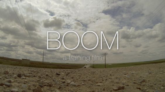 BOOM Pop Up Training Film