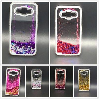 Bling-Liquid-Glitter-Dynamic-Hard-Case-For-Samsung-Galaxy-Core-Prime-SM-G360
