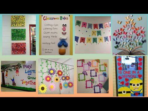 School Decoration Ideas Classroom Decoration Youtube
