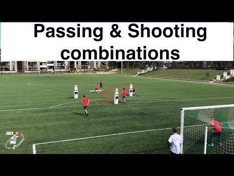 Shooting Drills Different Combinations With Goal Keepers Soccer Football Joner 1on1 Youtube Soccer Football Drills Goalkeeper