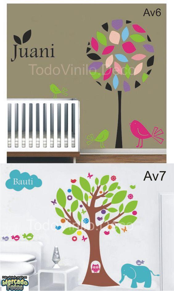 Trees on pinterest - Vinilos arboles decorativos ...