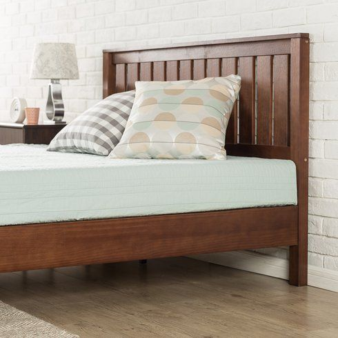 Loon Peak Morgan Hill Platform Bed Wayfair Headboards For Beds Solid Wood Platform Bed Wood Platform Bed