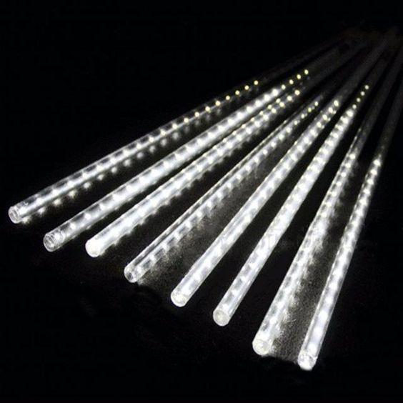 Meteor Shower Rain Tube Led Christmas Lights Led Christmas Lights Romantic Lighting Shower Lighting