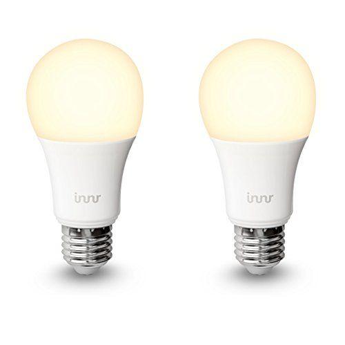 Innr E27 Duo Pack Mit 2 Smart Warm Weiss Dimmbare Retrofit Led Lampen Alexa Lightify Hue Kompatibel Rb 165 In Der App Anmelden Und 1 Led Led Lampe Hue