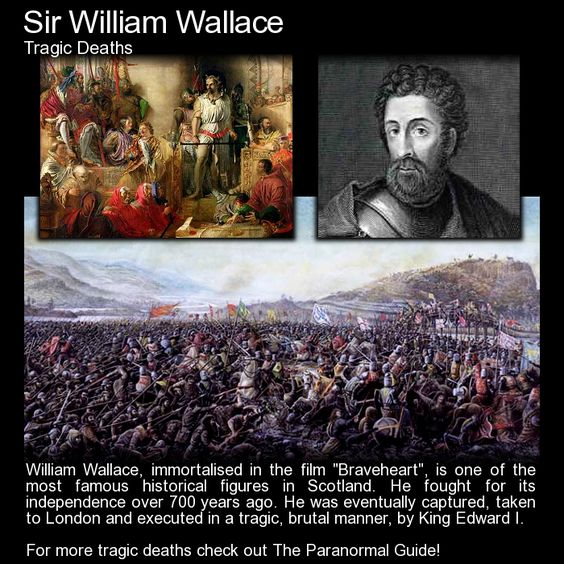 a brief life story of sir william wallace William wallace basis of fictional biopic braveheart birthplace: elderslie, renfrewshire, scotland location of death: smithfield elms, london, england cause of death: execution remains:  the popular national hero of scotland is believed to have been the second son of sir malcolm wallace of elderslie and auchinbothie, in renfrewshire the date of his birth is .