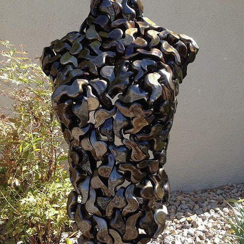 Pin On Metal Body Sculptures Feric