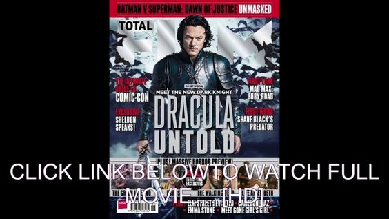 Watch¯\_(*Dracula Untold*)_/¯ Full Movie Streaming Online (2014) 720p HD Quality